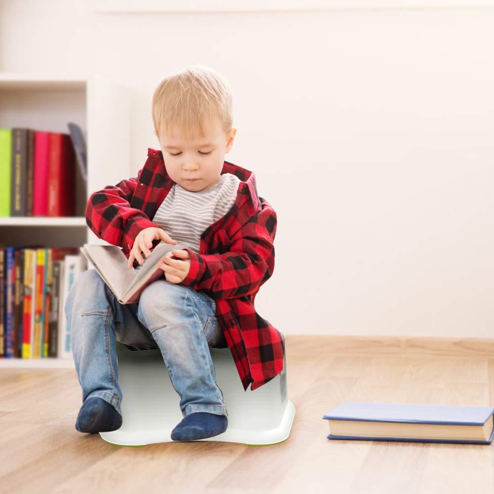 4 Packungen Anti-Rutsch Ikando tritthocker trittschemel schritthocker kinderschemel kinder kunststoff