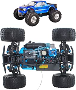 1/10 Petrol 4WD RC Scale Buggy Car, with 75Cc Fuel Tank, Self-Cooling Engine, Absorption Hydraulic Shock, Simulation Model for Adults