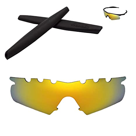 4982a36cc6 Walleva Vented Replacement Lenses + Rubber for Oakley M Frame Hybrid  Sunglasses - 17 Options Available