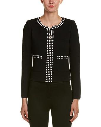 ed13a738e83 St. John Womens Wool-Blend Jacket