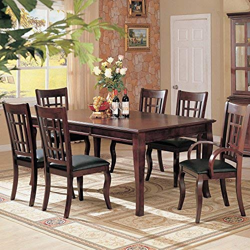 Dining Table with Drop Leaf Rich Cherry Finish MP: 100500