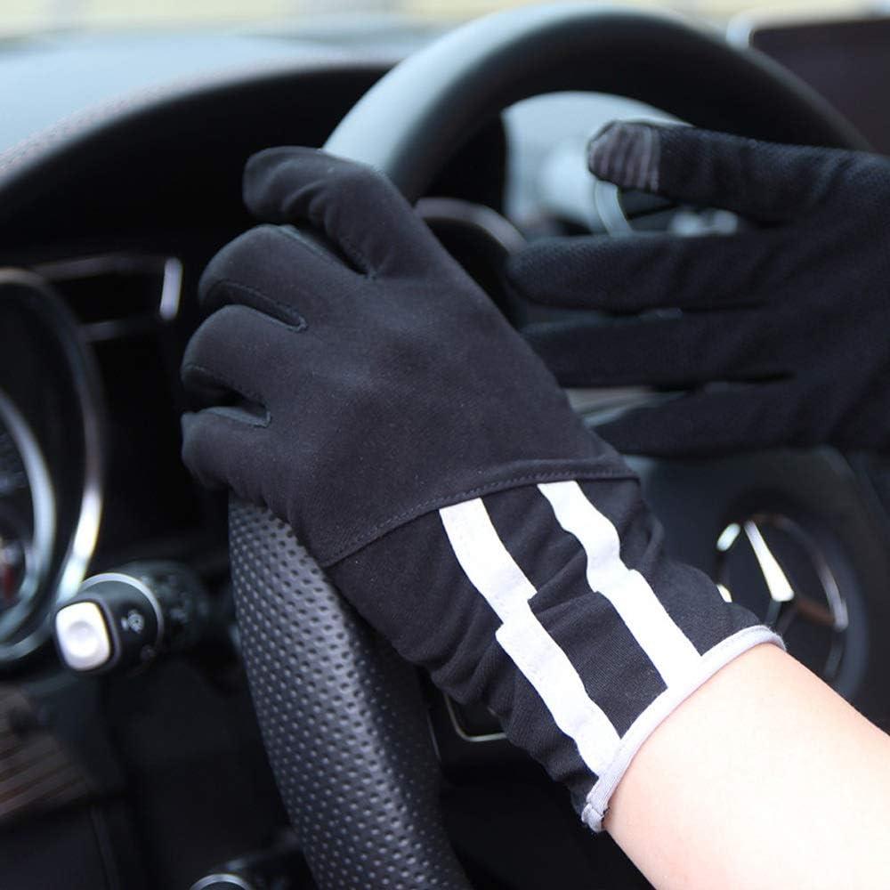 /Écran Tactile antid/érapant Estival pour Homme Mitaines Respirantes conduisant Un Gant Mince Color : Black BPFSST Gants de Protection Contre Le Soleil pour Hommes