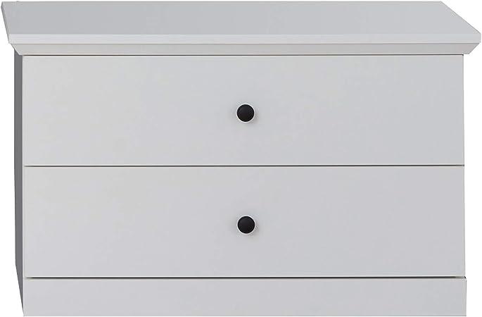 Maisonnerie Meuble à Chaussures avec Beaucoup d'espace de Rangement, Blanc, 55 x 45 x 73 cm