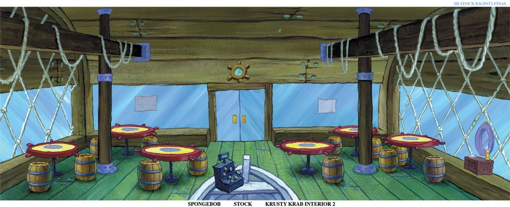 Krusty Krab Tables