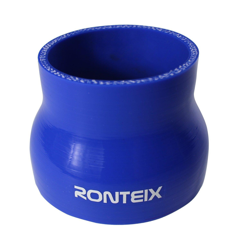 , bleu Ronteix 4/plis haute performance droite r/éducteurs tuyau en silicone 76/mm Longueur 63/mm 7,6/cm /à 6,3/cm 76/mm