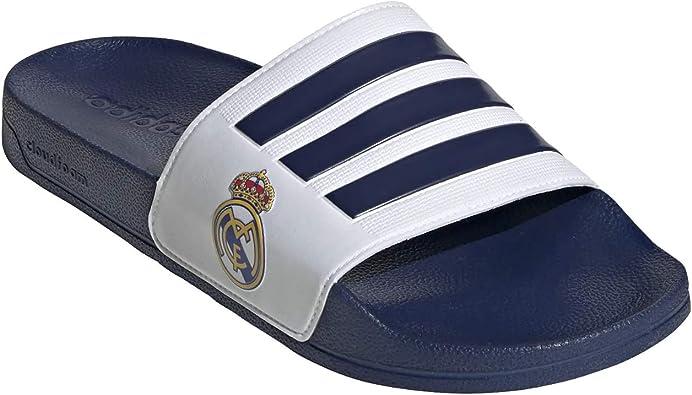 Haz lo mejor que pueda Campo Mono  adidas Chanclas Adidas del Real Madrid: Amazon.es: Zapatos y complementos