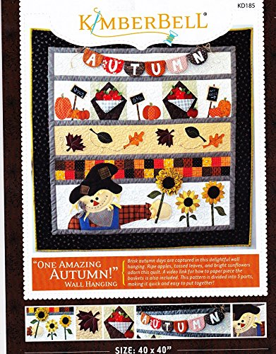 Kimberbell One Amazing Autumn Wall-Hanging Quilt Pattern 40