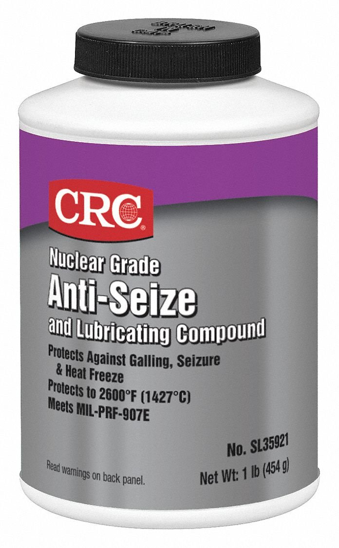 Anti-Seize, 16 oz, Nuclear, Brush Top by CRC