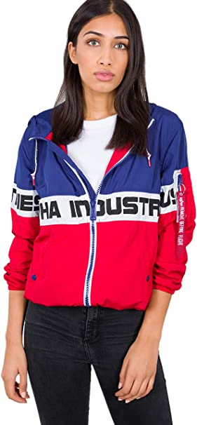 ALPHA INDUSTRIES Damen Windbreaker Color Block:
