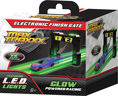 Max Traxxx Gravity Drive Tracer Racers Electronic Finish Gate for Non-Remote Control Racing Sets