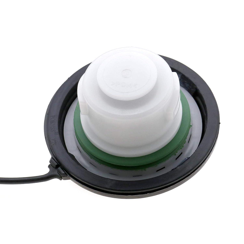 OTOTEC Tapa para Tanque de Aceite de Gasolina para Coche para Ford MK2 2005-2012