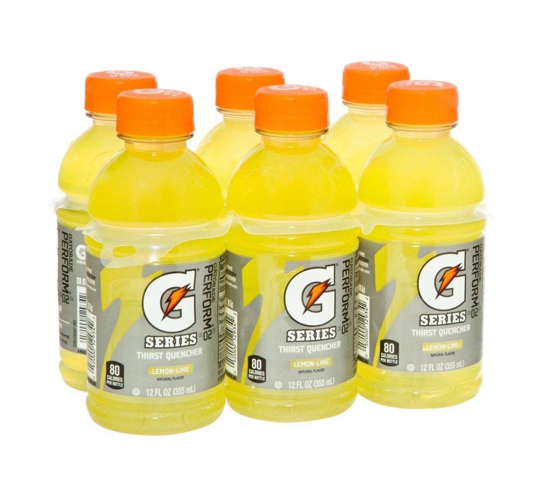 Gatorade 12 Oz Lemon - Lime - 4 Pack