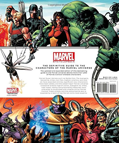 Free Comic Book Day Dubai: Marvel Encyclopedia Hardcover