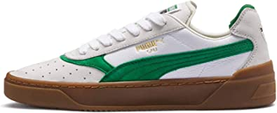 Puma Cali 0 Vintage, White Amazon Green Gum: Amazon.co.uk