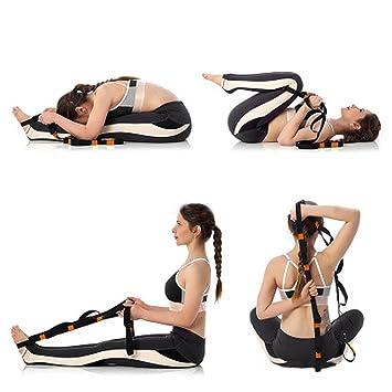 Slimerence - Correa elástica para yoga, correa de yoga ...