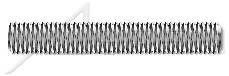 5 pcs Studs DIN 976-1 M48-5.0 X 1m A4 Stainless Steel Metric Full Thread