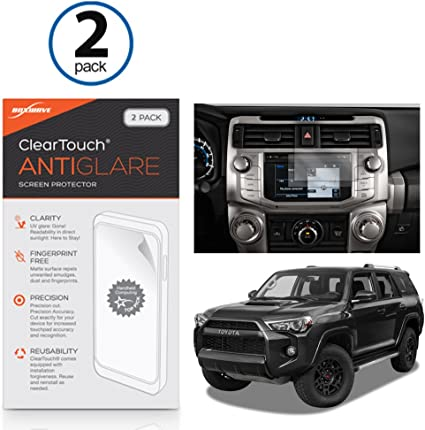 Voodonala for 4runner Screen Protector Media Center Navigation Touch fit Toyota 4runner SUV 2017 2018 2019