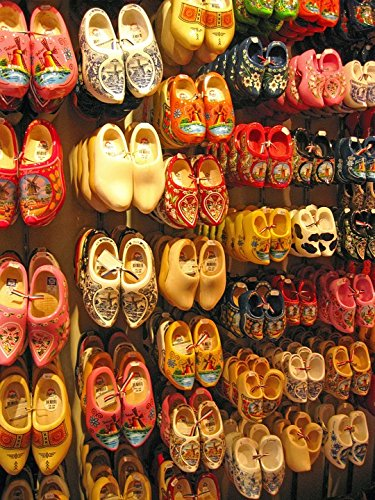 Amazon.com  Home Comforts Laminated Poster Holland Shoes Amsterdam ... 810bf67450ac