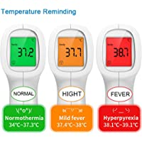 wawoo Non-Contact Thermometer Digital Thermometers for Baby Kids Adult Temperature Detector Portable skilful