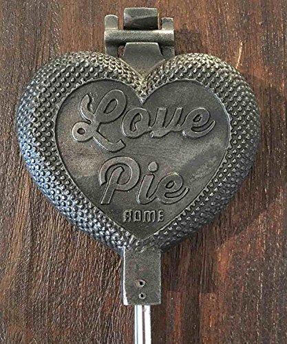 Rome Cast Iron ''Love Pie'' Pie Irons, Pack of 2