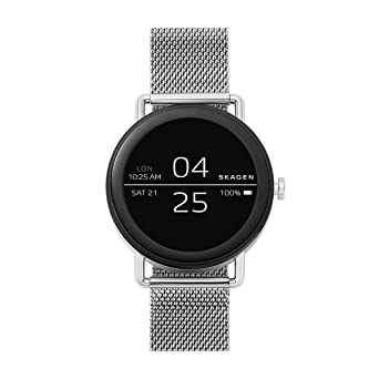 Amazon.com: Skagen Connected Falster Watch with Stainless ...