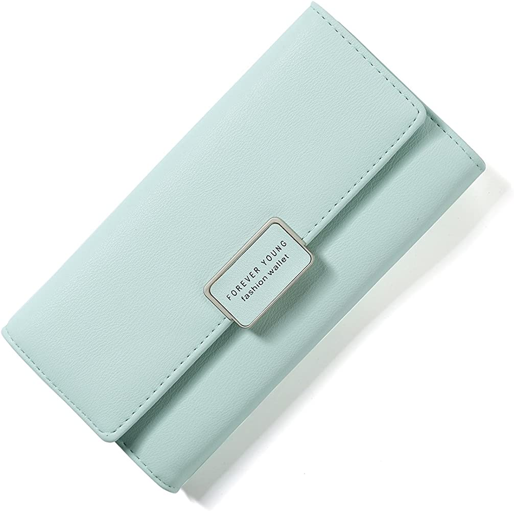 44174754bb66 Women RFID Blocking Multi Card Organizer Wallet for Women Purse