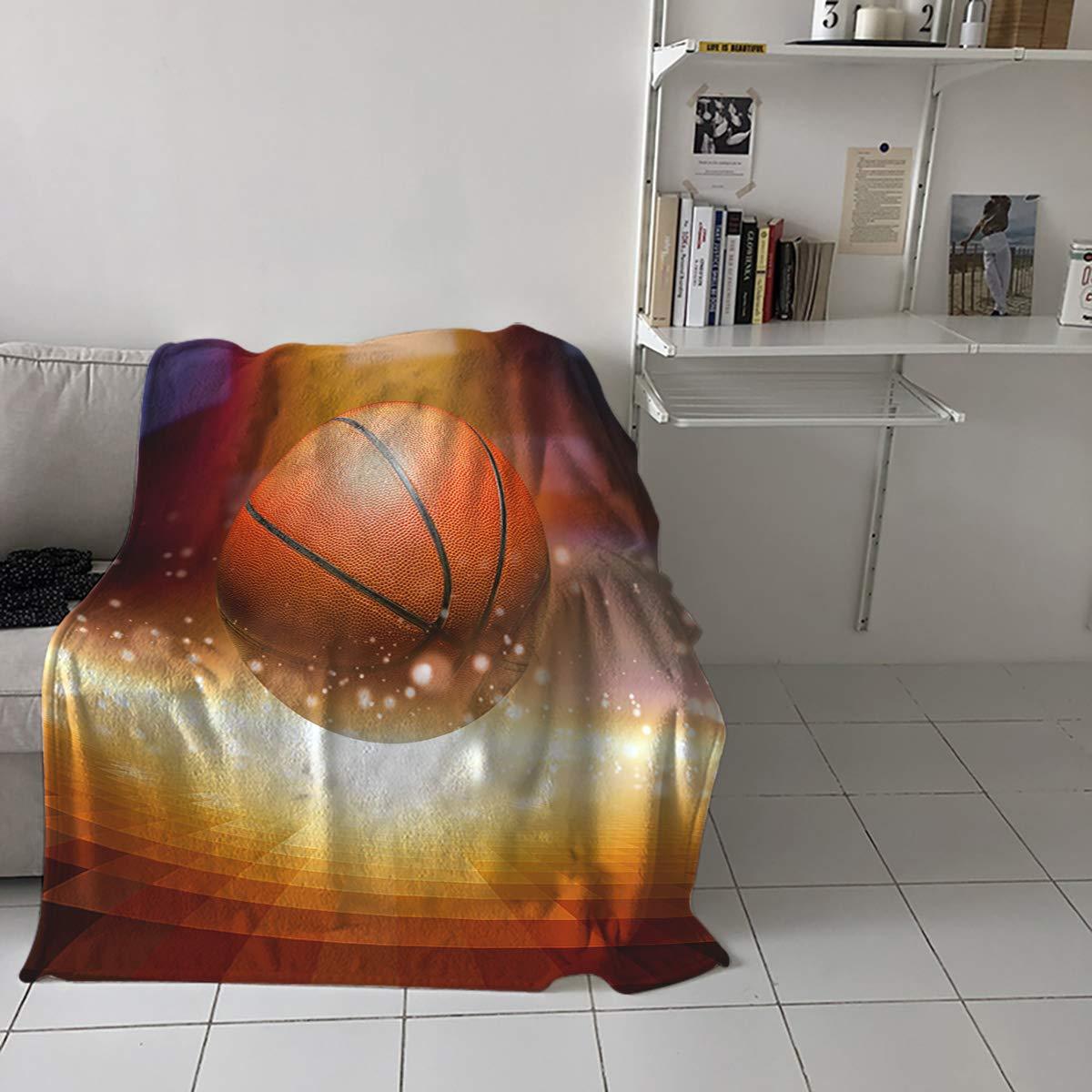 Amazon.com: Manta de franela de lujo para cama, sofá, silla ...