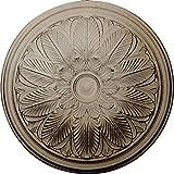 Ekena Millwork CM22BOFCS Bordeaux Ceiling Medallion, Flash Copper