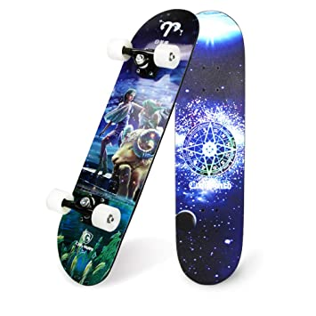 FGKING Patinete de Rueda Flash, LED Skateboard Complete ...