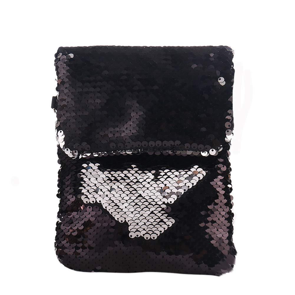 Oberteile Und T-shirts Neue Kinder Kinder Pailletten Fischschwanz Mini Schulter Tasche Zipper Geldbörse Umhängetaschen