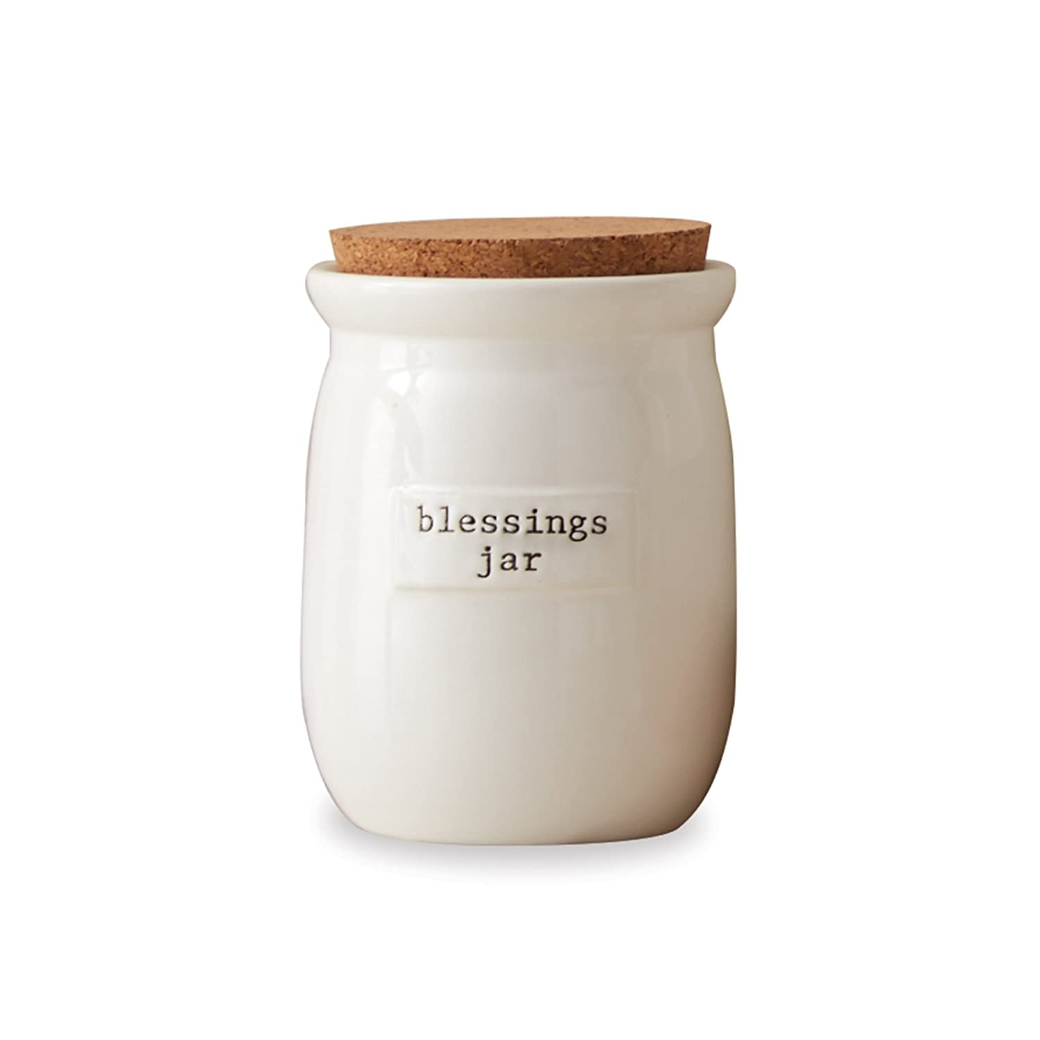 Mud Pie 4775001 Count Your Blessings Jar Set