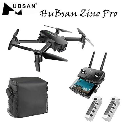 QHJ para Hubsan Zino Pro - Dron plegable, cámara 4 K con 3 ejes ...