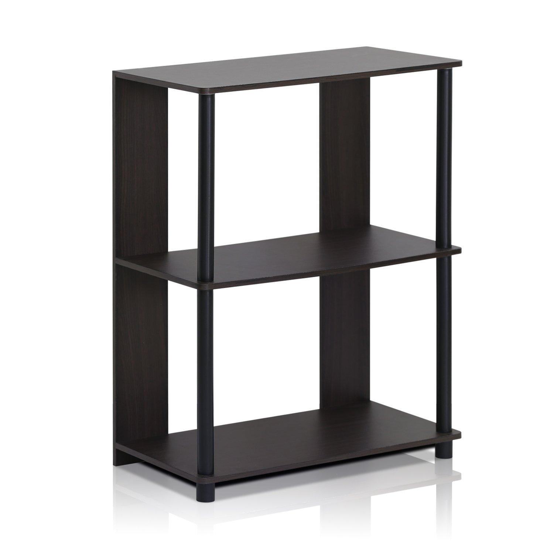 Furinno 15070WNBK Jaya Simple Design Bookcase Walnut