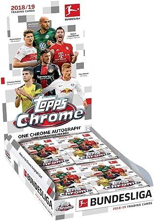 2018-19 Topps cromo Bundesliga Fútbol pasatiempo caja