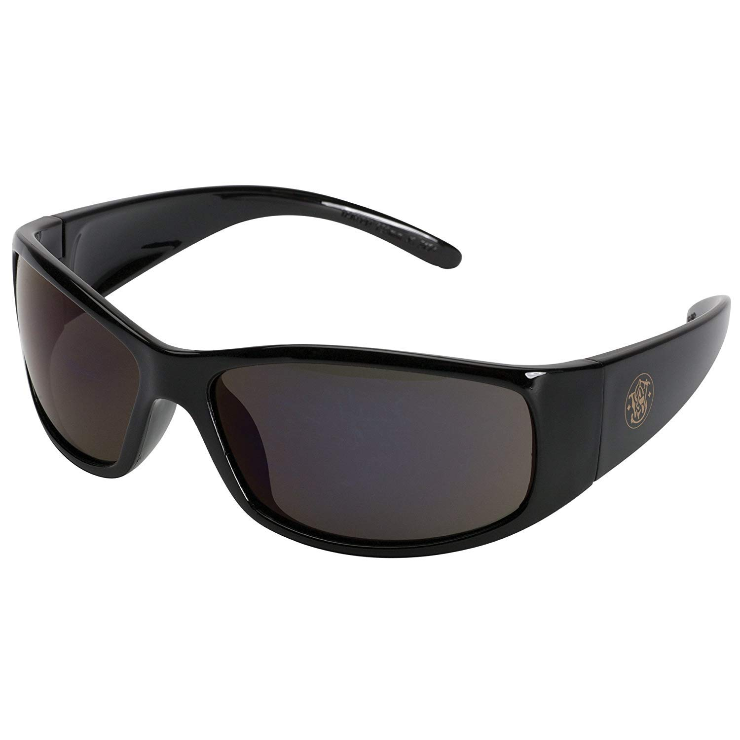 Safety Glasses (21303), Elite Safety Sunglasses, Smoke Anti-Fog Lenses with Black Frame by Smith & Wesson
