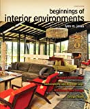 Beginnings of Interior Environments, Jones, Lynn M., 0132786001