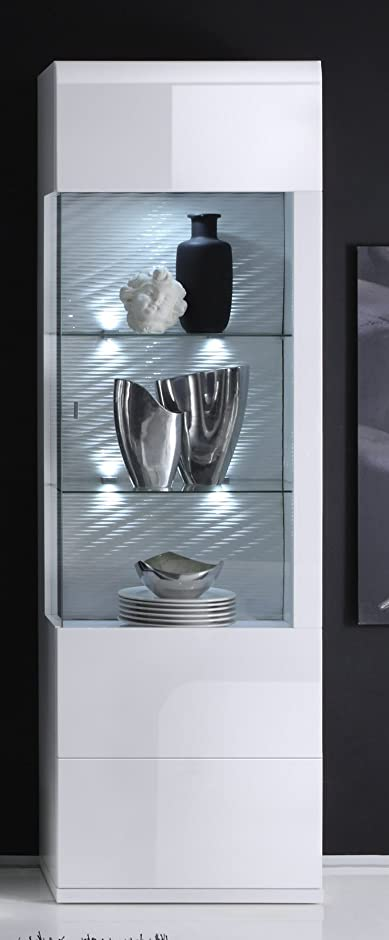 Stunning Wohnzimmer Vitrine Weis Hochglanz Images - Ridgewayng.com ...