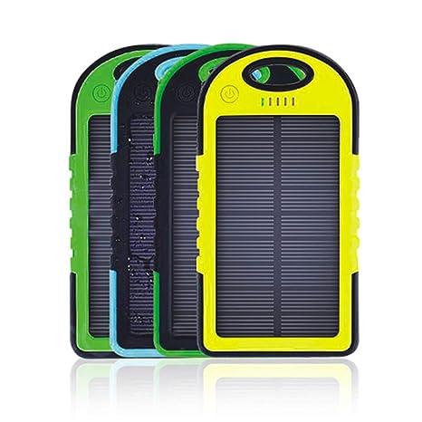 Amazon.com: A&Dan Cargador Solar Banco de Energía 5000Mah ...