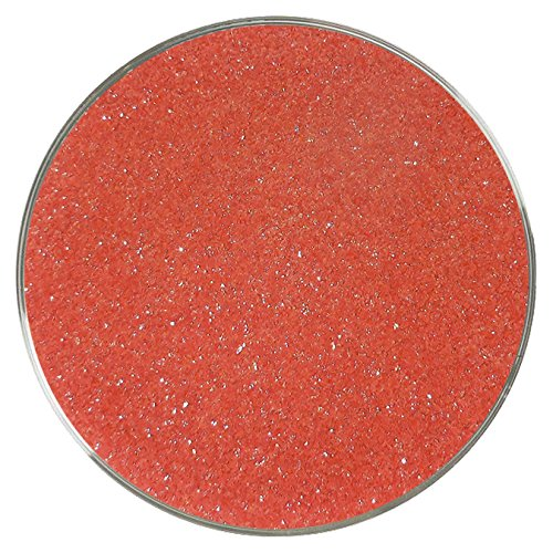 Flame Opalescent Fine Frit - 96COE - 4oz - Made from System 96 Glass
