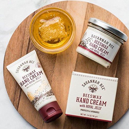 Savannah Bee Company Beeswax Hand Cream 3.4oz Jar.