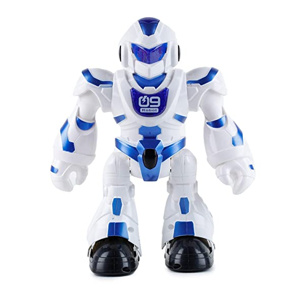 Webby RC Intelligent Dancing Singing Walking Robot Toy (Blue)