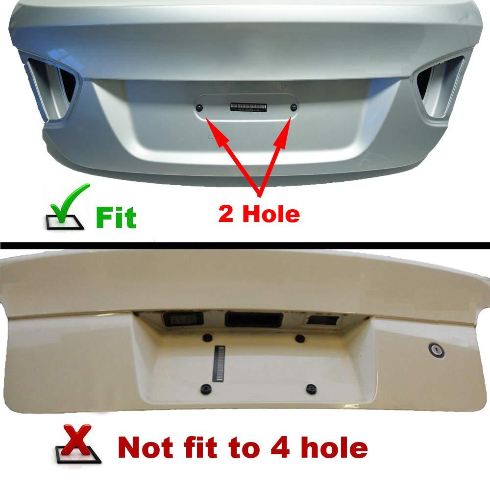 6 Anti-Theft Screws /& Wrench GTP Rear License Plate Base Mount Bracket for BMW 1//2//3//4//5//6 Series X1 X3 X4 X5 X6 Z4 /& Mini Cooper 51187160607 /& 511882380615 Tag Frame Holder