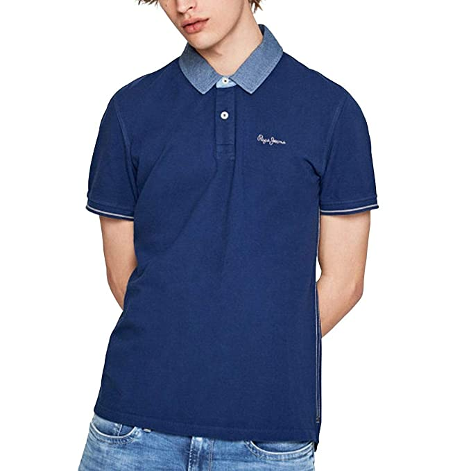 PEPE JEANS HOME - Polo Hombre Color: Blau Talla: XL: Amazon.es ...
