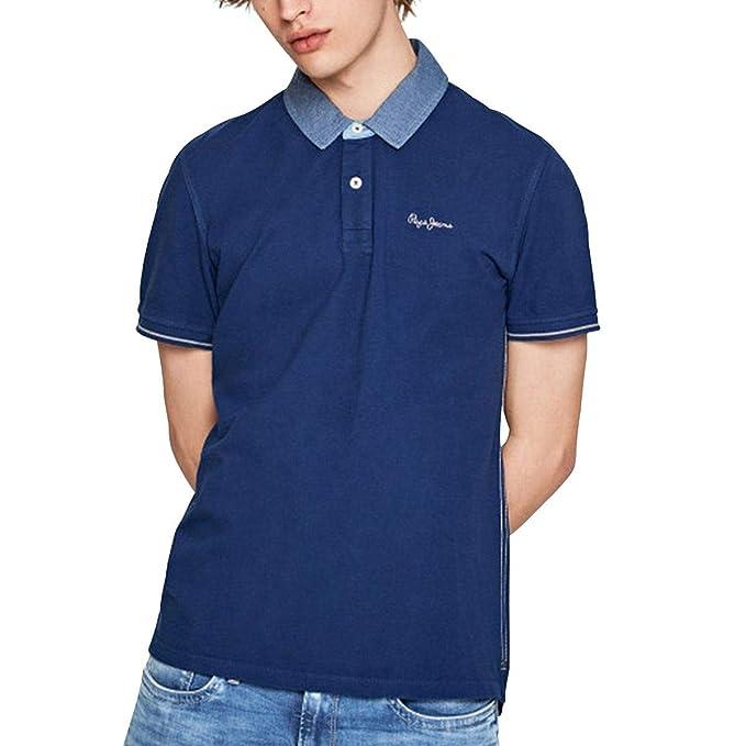 PEPE JEANS HOME - Polo Hombre Color: Blau Talla: XL: Amazon.es ...