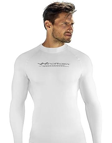 72bbf90ceb WindRider Men's Rash Guard Swim Shirt – Long Sleeve UPF 50+ Performance Fit