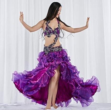 KLMWDDPWY Danza del Vientre Mujer Traje De Danza del Vientre ...