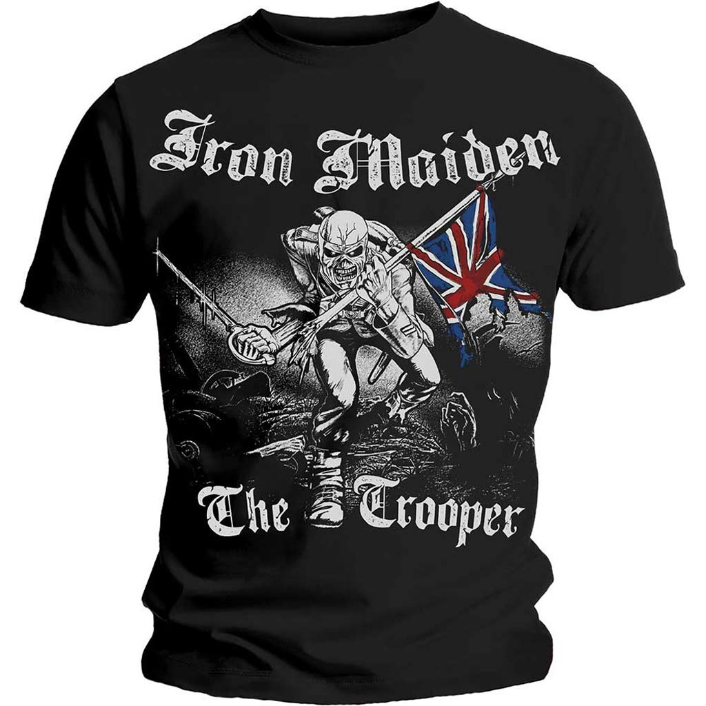 Iron Maiden 'Sketched Trooper' T-Shirt