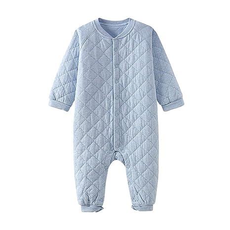 Baby Onesies recién Nacido Ropa Masculina bebé Onesies otoño e Invierno cálido Mono: Amazon.es: Hogar