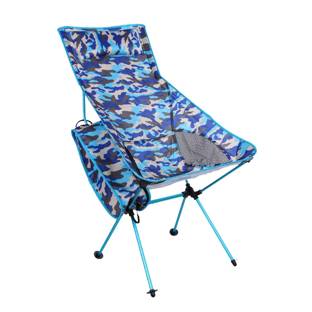 BAICHEN Outdoor Chair Camping Chair Multifunktionaler, folgenschwerer Lastenträger 120 kg Easy to Carry Recreational Beach Mountain Lawn Fishing