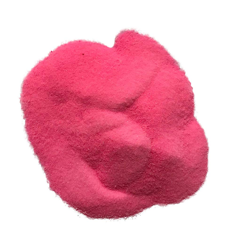 Kingspinner Instant Snow 6 Colors Fake Instant Snow Powder Fluffy Absorbant Magic Prop Artificial Snow Xmas Kid Toys (Pink)